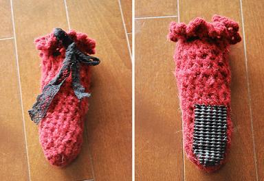 2代目靴下。.JPG