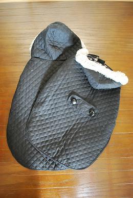 キルティングコート。(ファー付)-3.JPG