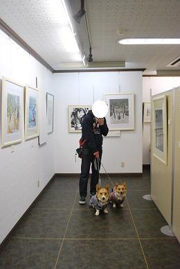 メルヘン画や版画を展示してます。.JPG