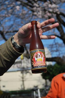今年はワンコ用ビールも用意しました。.JPG