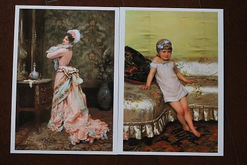 美術館所蔵の絵画。.JPG