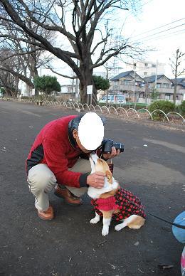 momoパパさん、momoちゃんの挨拶は強烈でした〜….JPG